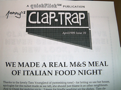 A load of old Clap-Trap